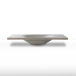 dade WAVE 90 concrete sink | Lavabos | Dade Design AG concrete works Beton