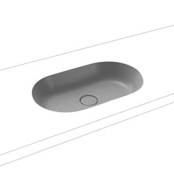 Centro Undercounter Washbasin cool grey 30   Wash basins   Kaldewei
