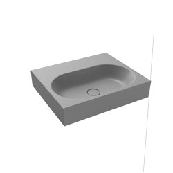 Centro Wall hung Washbasin cool grey 30   Wash basins   Kaldewei