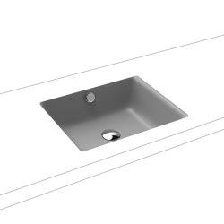 Puro undercounter washbasin cool grey 30   Wash basins   Kaldewei