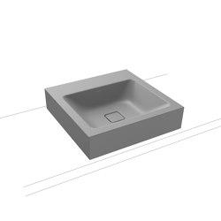 Cono Countertop washbasin 120mm cool grey 30   Wash basins   Kaldewei
