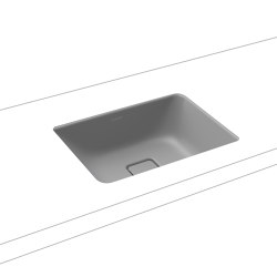 Cono undercounter washbasin cool grey 30   Wash basins   Kaldewei