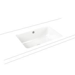 Cayono undercounter washbasin alpine white   Wash basins   Kaldewei