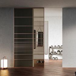 Tip | Rame Tip 090 Tr Fume' | Internal doors | Barausse Srl