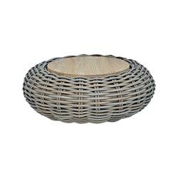 Bubble Round Coffe Table 90 X 35 Cm Teak Top | Coffee tables | cbdesign