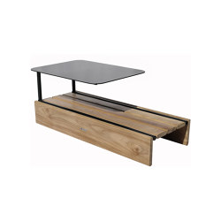 Casual Modular Coffee Table With Tray | Coffee tables | cbdesign