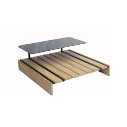 Casual Modular Square Coffee Table/Stool With Tray | Coffee tables | cbdesign
