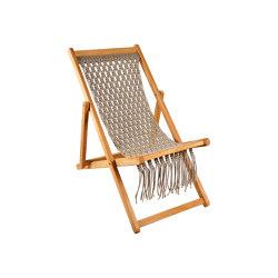 Fes Relax Chair Macrame Weaving | Sun loungers | cbdesign