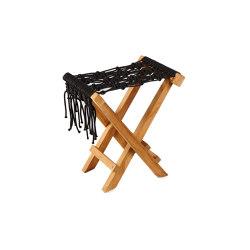 Fes Folding Stool Macrame Weaving   Poufs   cbdesign