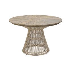 Fiorella Spoke Table 120 Teak Top | Dining tables | cbdesign