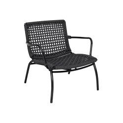 Lara Relax Armchair Single Weaving | Armchairs | cbdesign