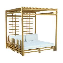 Woo Gazebo - 2 Sunbed/Sofa - 2 Coffee Table | Gazebos | cbdesign