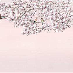 Magnolia   Magnolia   Wall coverings / wallpapers   Walls beyond