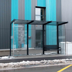 HSI ONE | Bus stop shelters | BURRI