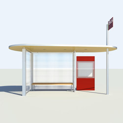 HSI TWO | Bus stop shelters | BURRI