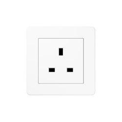 A flow | British Standard white | British sockets | JUNG