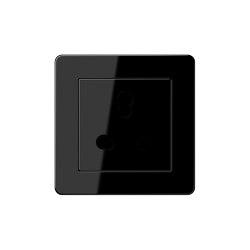 A flow | British Standard black | British sockets | JUNG