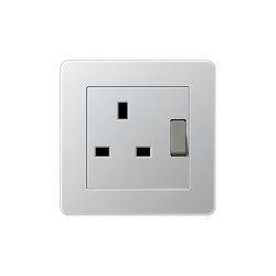 A flow | British Standard Aluminium | British sockets | JUNG
