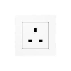 A 550 | British Standard white | British sockets | JUNG