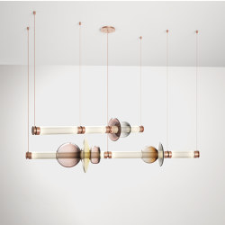 LUNA Chandelier 2 Tier | Suspended lights | Gabriel Scott