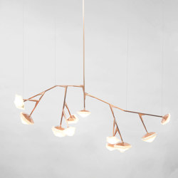 MYRIAD Chandelier 12 Long | Suspended lights | Gabriel Scott