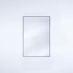 Lucka Black Small Rect | Mirrors | Deknudt Mirrors
