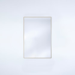 Lucka Gold Small Rect. | Mirrors | Deknudt Mirrors
