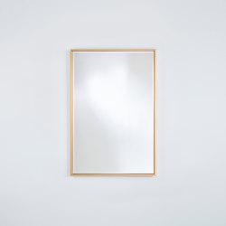 Soho Gold Small Rect. | Mirrors | Deknudt Mirrors