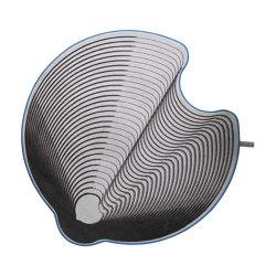 Grooved Circle 002   Rugs   FLAT'N