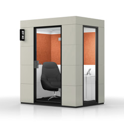 Dialogue Unit |  Birch Grey | Soundproofing room-in-room systems | OFFICEBRICKS