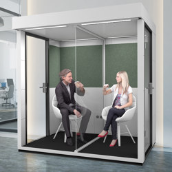 Shield Unit | Optional | Soundproofing room-in-room systems | OFFICEBRICKS