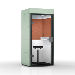 Mobile Unit |  Sea Green | Telephone booths | OFFICEBRICKS