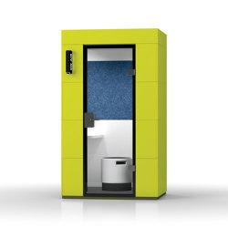 Phone Unit |  Lime Grass | Office Pods | OFFICEBRICKS