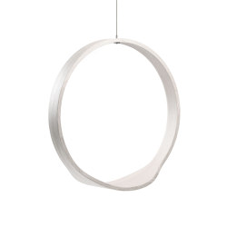 Circleswing N.1 Wooden Hanging Chair Swing Seat -  White Oak⎥indoor | Swings | Iwona Kosicka Design