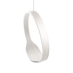 Circleswing N.1 Wooden Hanging Chair Swing Seat -  White Oak⎥outdoor | Swings | Iwona Kosicka Design