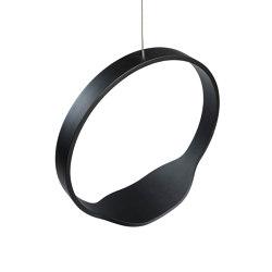 Circleswing N.1 Wooden Hanging Chair Swing Seat - Black Oak⎥outdoor | Swings | Iwona Kosicka Design