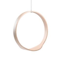 Circleswing N.1 Wooden Hanging Chair Swing Seat - Little White Oak⎥indoor | Swings | Iwona Kosicka Design