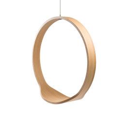 Circleswing N.1 Wooden Hanging Chair Swing Seat - Natural Oak⎥indoor | Swings | Iwona Kosicka Design