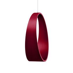 Circleswing N.2 Wooden Hanging Chair Swing Seat -  Ral⎥indoor | Swings | Iwona Kosicka Design