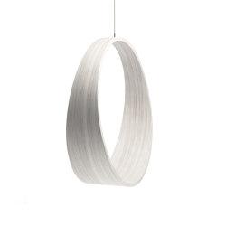 Circleswing N.2 Wooden Hanging Chair Swing Seat -  White⎥indoor | Swings | Iwona Kosicka Design