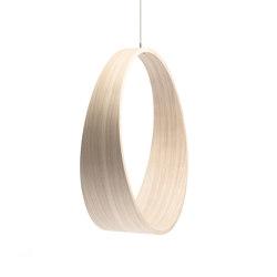 Circleswing N.2 Wooden Hanging Chair Swing Seat - Little White Oak⎥indoor | Swings | Iwona Kosicka Design