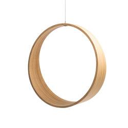 Circleswing N.2 Wooden Hanging Chair Swing Seat - Natural Oak⎥outdoor | Swings | Iwona Kosicka Design