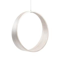 Circleswing N.2 Wooden Hanging Chair Swing Seat - White Oak⎥outdoor | Swings | Iwona Kosicka Design