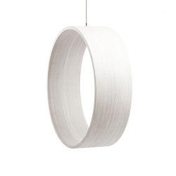 Circleswing N.3 Wooden Hanging Chair Swing Seat -  White Oak⎥outdoor | Swings | Iwona Kosicka Design