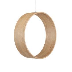Circleswing N.3 Wooden Hanging Chair Swing Seat - Natural Oak⎥outdoor | Swings | Iwona Kosicka Design