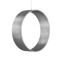 Circleswing N.3 Wooden Hanging Chair Swing Seat - Silver⎥indoor | Swings | Iwona Kosicka Design