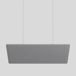 TASK square acoustic | Suspended lights | XAL