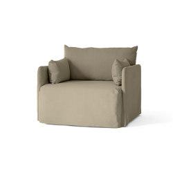 Offset Loose Cover 1. Seater | Cotlin Poppy Seed | Tejidos tapicerías | MENU