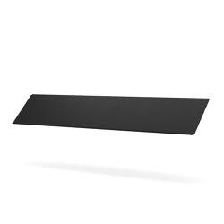 Zet Storage System, Magazine Shelf | Black | Shelving | MENU
