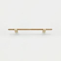 Furniture Handle WCM3 | The H Brass matt | Cabinet handles | Craftvoll